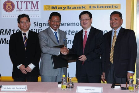 UTM saves RM20 million through Maybank Islamic Berhad Loan Package