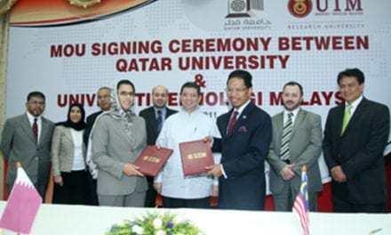 QATAR UNIVERSITY (QU) AND UTM TIES SEALED