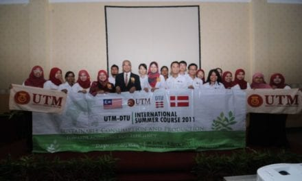 21 UTM students joined DTU Summer Course 2011
