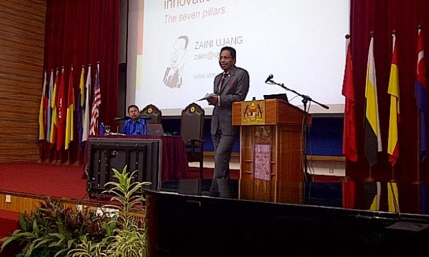 """UTM Vice-Chancellor delivered lecture on """"Enculturing Innovation: The Seven Pillars"""""""