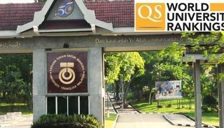 UTM in Top 200 in QS world university engineering and technology ranking