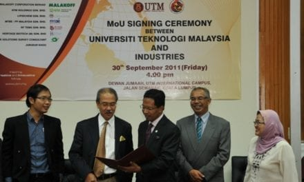 UTM is the preferred university to pursue Industrial PhD