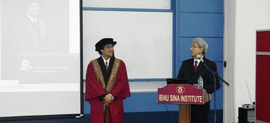 Hadi Nur: The Inaugural Professor of Chemistry