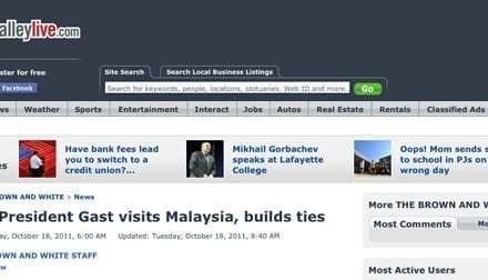 Lehigh President Gast visits Malaysia, builds ties