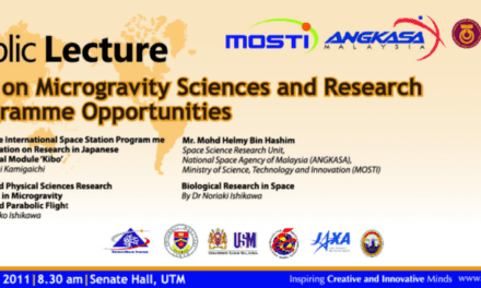 Public lecture : Talk on Microgravity Sciences and Research Programme Opportunities