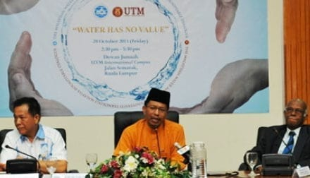 "MWA Industry Forum 2011 | MWA-UTM Roundtable Dialogue : ""Water Has No Value"""