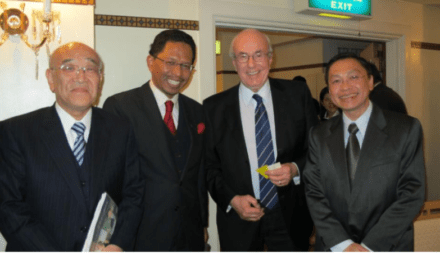 UTM VC Delivered a Keynote Address at Symposium Marking 130th Anniversary of Meiji University