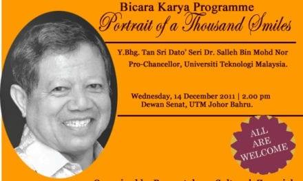Dua Profesor Emeritus UTM Terima Anugerah dari Lembaga Arkitek Malaysia (LAM)