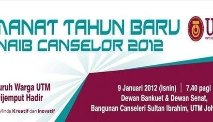 Amanat Tahun Baru Naib Canselor 2012