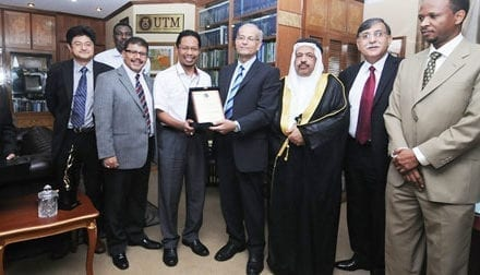 UTM-FBSU signed Letter of Corporation to foster academic relationship