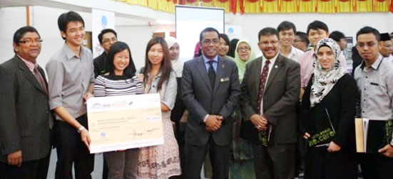 UTM architecture students won Autodesk Malaysia Design Competition