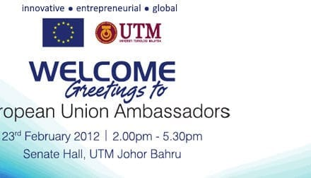 Welcome Greetings to European Union Ambassadors