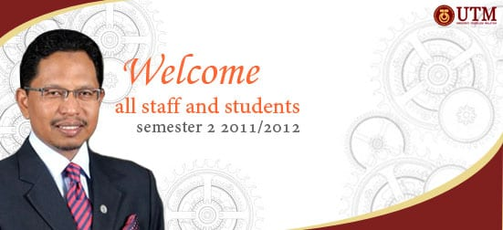 Welcome all staff and students back to UTM