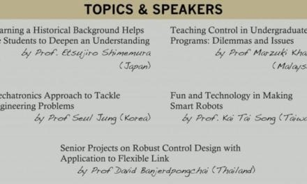 Colloquium on Best Practice in Teaching Control & Mechatronics, 26 March 2012 (8.30am-12.30pm)