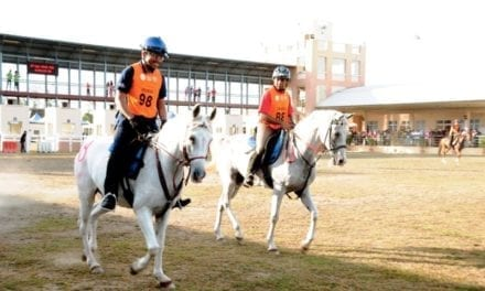 UTM team excel in 40km endurance ride