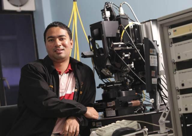Muhammad Arif of UTM selected for 62nd Nobel Laureate 2012 Meeting in Germany