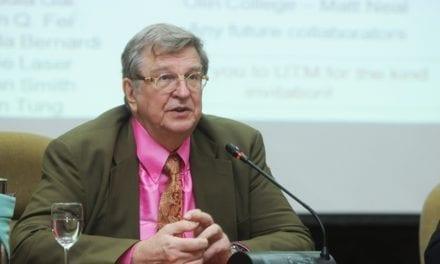 MIT Prof deliver UTM Premier Lecture Series on Biotechnology for Carbon Storage in UTM