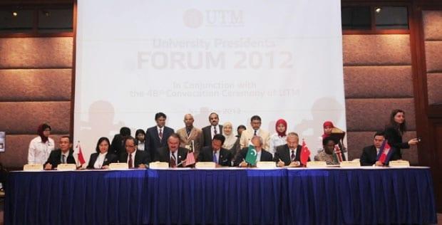 Prof. Zaini: UTM envisions multilateral partnership framework with organisations