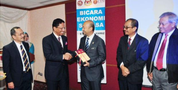 Sesi Bicara Ekonomi Semasa bersama Dato' Mukhriz Mahathir