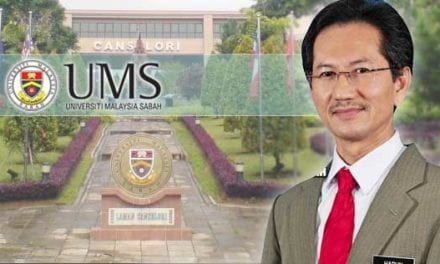 Congratulations to the new Vice-Chancellor of UMS