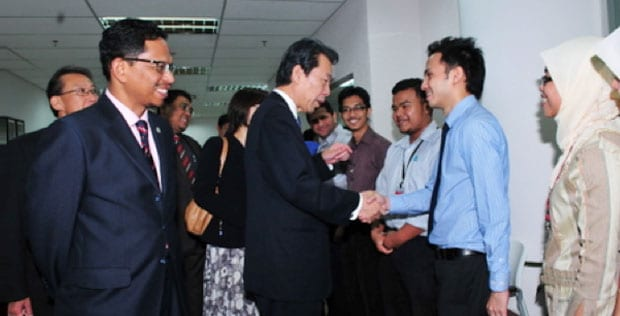Japanese Education Minister's Visit To UTM Boosts Further Cooperation Between Japan and Malaysia