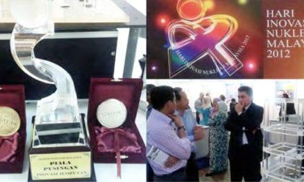 E-seer UTM won gold and silver medals at Hari Inovasi Nuklear Malaysia 2012
