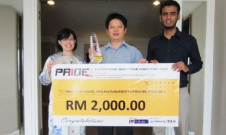 UTM won First Prize in International Robot PRIDE Competition 2012, Kuching Sarawak