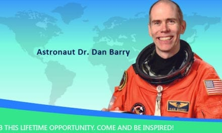 Astronaut Dr. Dan Barry: choose what you love to do