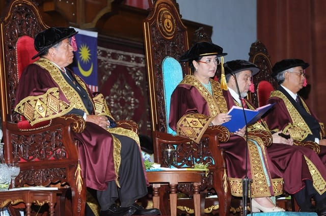 Address by UTM Chancellor in conjunction with 49th Convocation ceremony