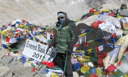 Pro Chancellor, Tan Sri Dr. Salleh Mohd Nor conquered Everest Base Camp