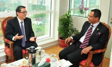 Visit by Singapore High Commissioner to UTM Kuala Lumpur