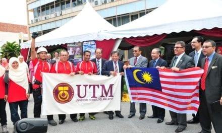 Lima mahasiswa UTM buat kajian di Everest