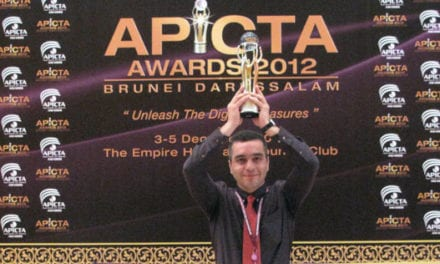 """""""GUI based on Steganography"""" won GOLD Award For Security at APICTA 2012"""