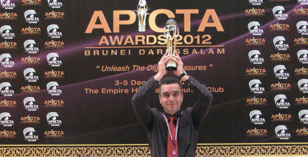 """GUI based on Steganography"" won GOLD Award For Security at APICTA 2012"