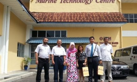 NTU Research Group on Ocean Renewable Energy visits UTM