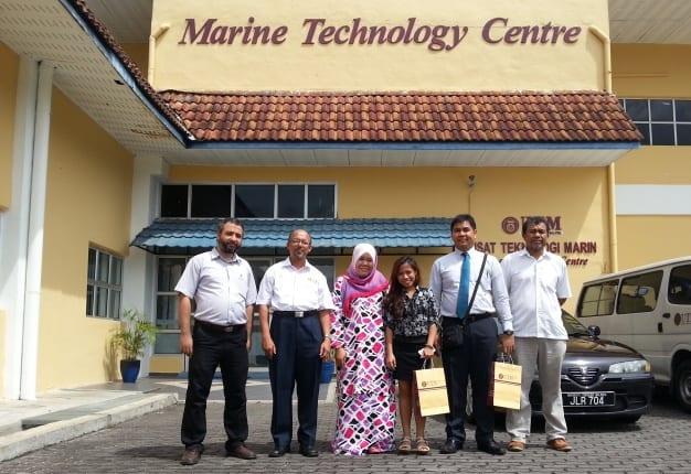 NTU Research Group on Ocean Renewable Energy visits UTM