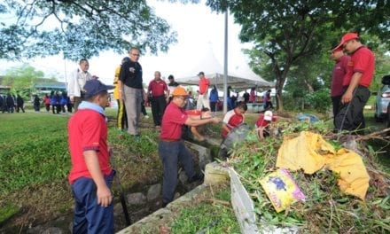 UTM mulakan kempen tanggungjawab sosial 2013 di Taman Universiti