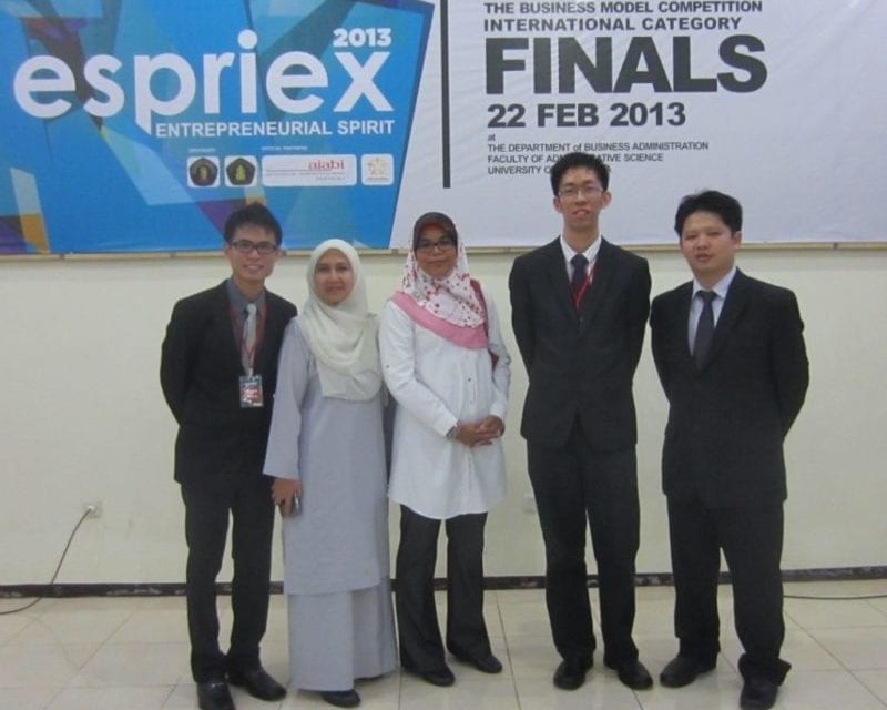 UTM students won Business Competition in Indonesia