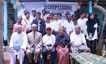 UTM international service learning in Bangladesh