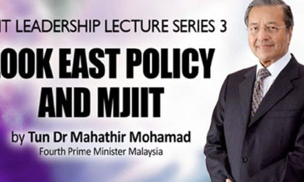 MJIIT Leadership Lecture Series 3 : Look East Policy and MJIIT