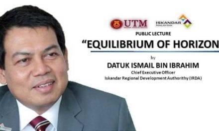 "Public Lecture ""EQUILIBRIUM OF HORIZON"" by Datuk Ismail bin Ibrahim"