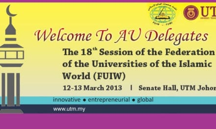 Welcome to AU delegates