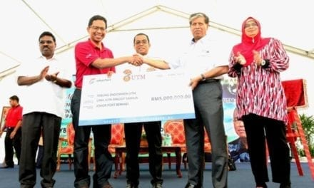 Tabung endowment UTM terima sumbangan RM5 Juta