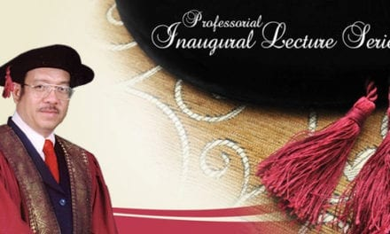 Professional Inaugural Lecture Series by Dato' Prof. Ir. Dr. Alias bin Mohd Noor