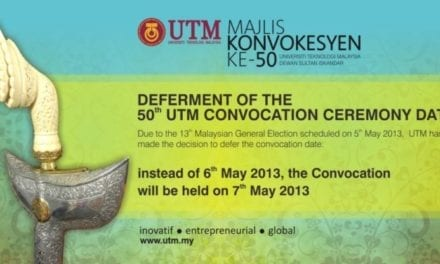 50th UTM Convocation Ceremony
