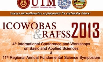 4th ICOWOBAS & 11th RAFSS 2013