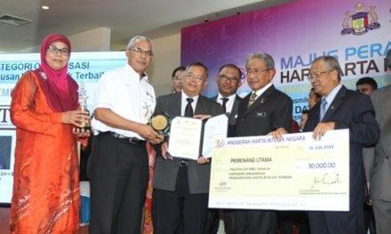 UTM catat sejarah menang Anugerah Harta Intelek Negara kali  ke-4