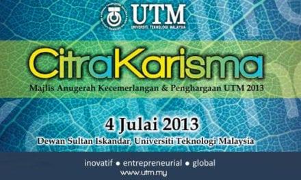 Majlis Anugerah Kecemerlangan & Penghargaan UTM 2013 – Citra Karisma