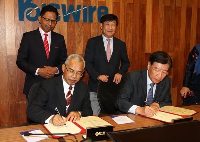 Kiswire contributes RM 3 million to UTM Endowment Fund