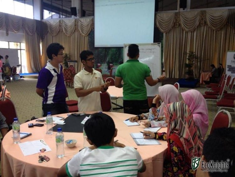 "Challenging UTM Students to Reduce Campus Water Consumption in ""Knights of Nature Sustainability Camp"""